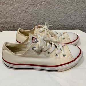 Converse All Star Low Tops Youth Size 3